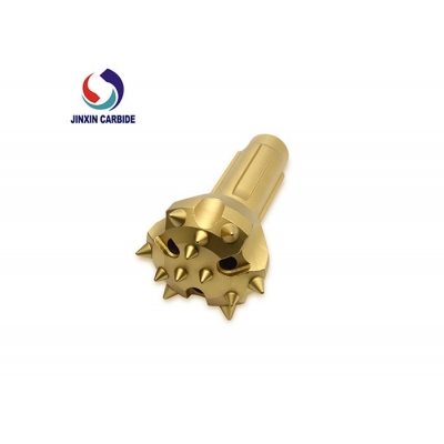 High Performance DTH Drill Bit , yellow Jinxin Zhuzhou Rock Drilling Tools